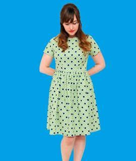 Sew your own Fit and Flare Dress