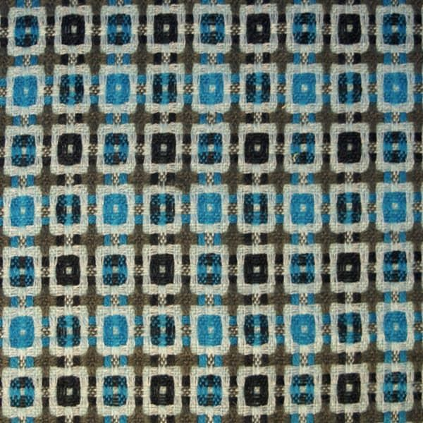 Woven Square In Blue