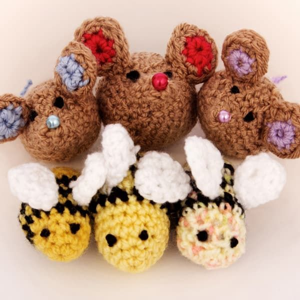 Free Amigurumi Animal Crochet Patterns – Free Amigurumi Crochet | 600x600